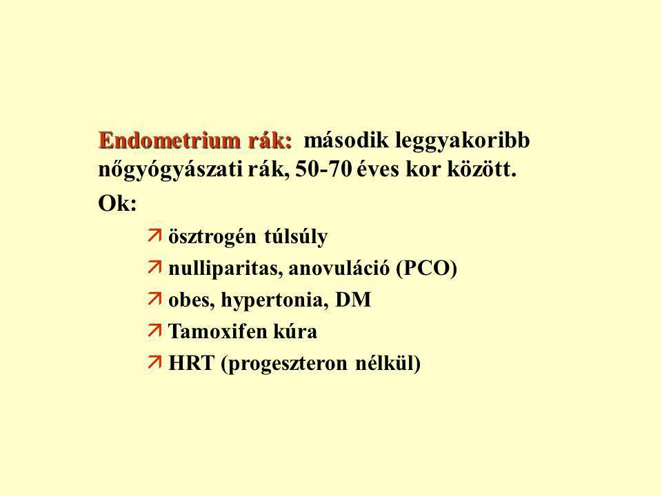 Mi az endometriális rák