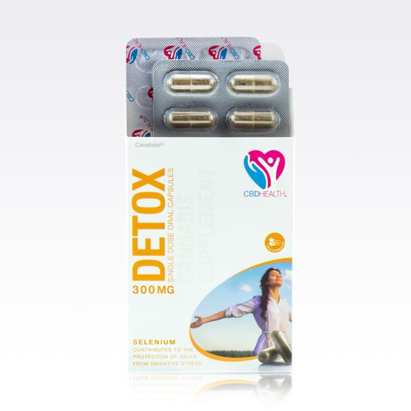 CBD HEALTH® Méregtelenítő kapszula 30 db   Kannabisz Olaj az Immunrendszer erősítéséhez