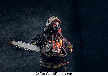 tűzoltó ellen