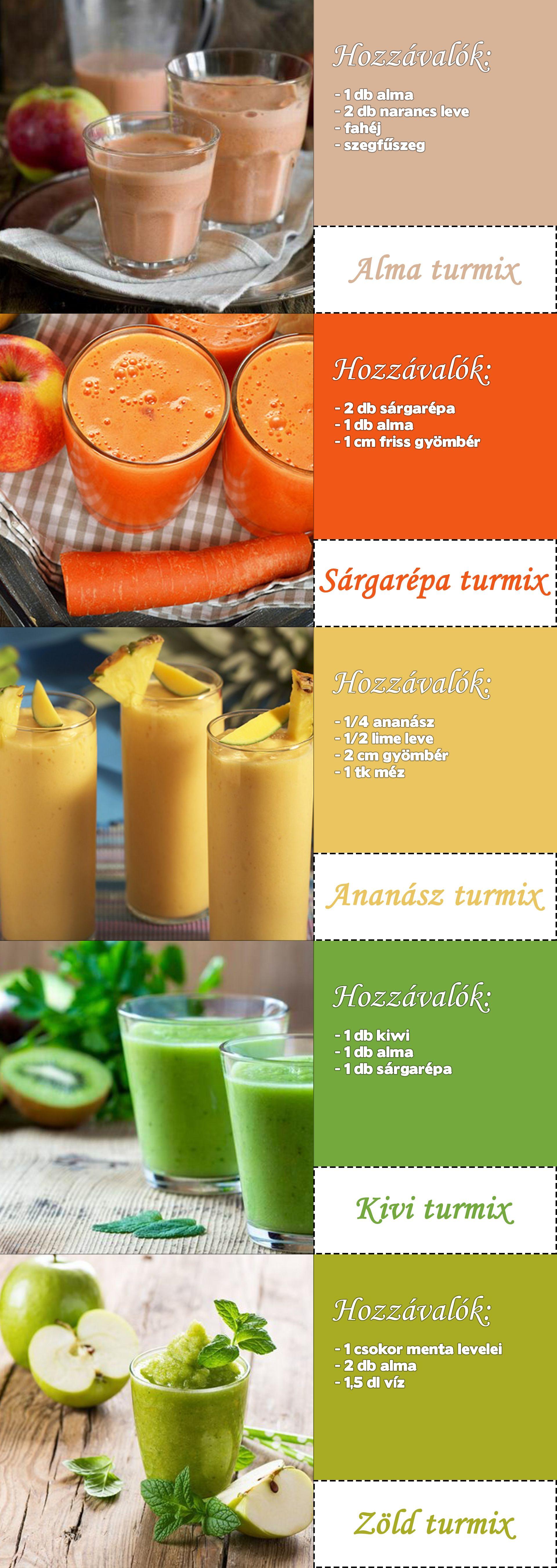 méregtelenítő shake receptek