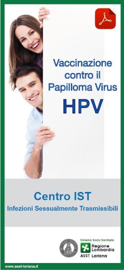 vakcinázás papilloma vírus régió lombardia ellen