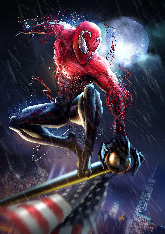 The Symbiotic Hero: Hybrid - Chapter 1 | Spider man unlimited, Symbiotes marvel, Spiderman art