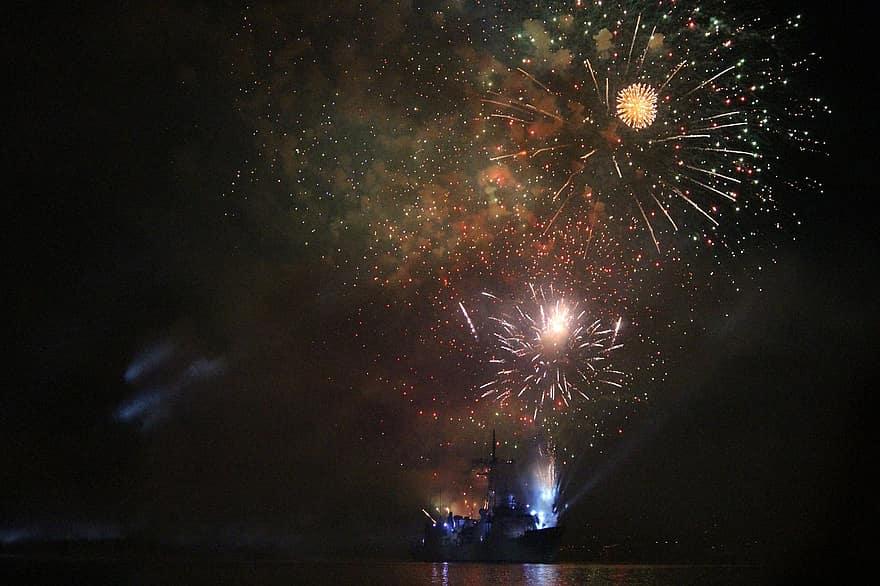 Hubble magányos tűzijáték