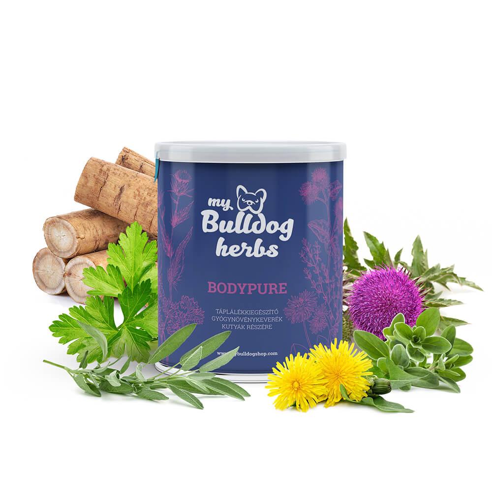 My Bulldog Herbs - Bodypure, gyógyszeres kezelés utáni méregtelenítésre, 50g