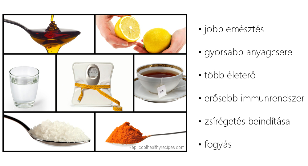 A test méregtelenítése citromlével