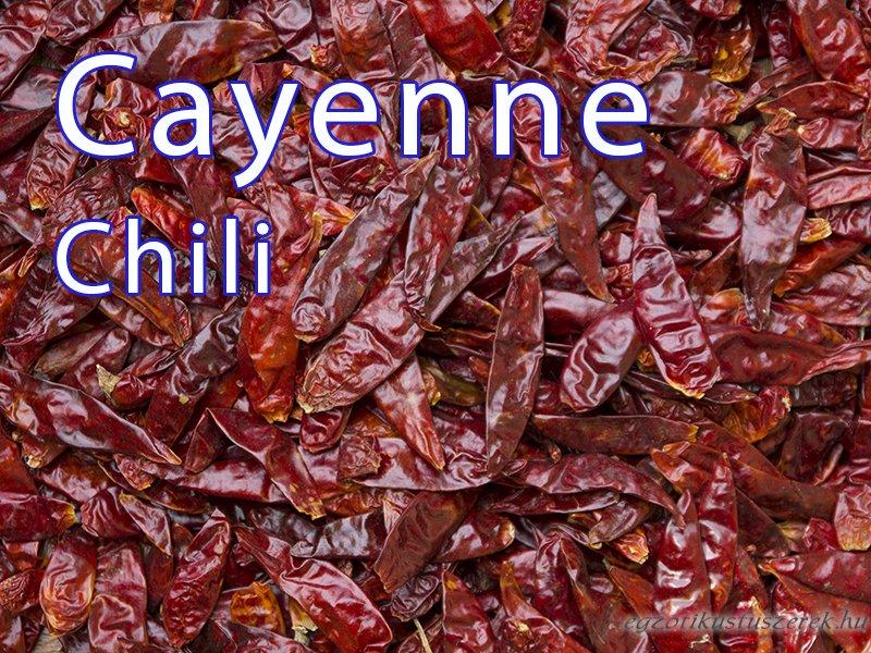 Parazitákból származó Cayenne bors. Csípős paprika készítmények